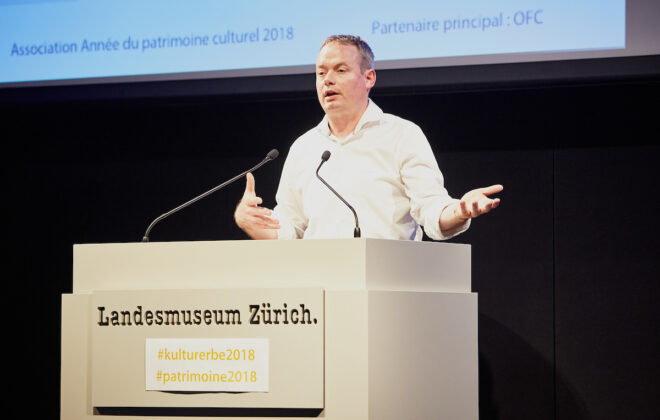 Lancierung Kulturerbejahr 2018 im Landesmuseum Zürich. März 2017.  © c.baeriswyl.fotografie '17